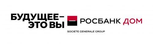 Росбанк Дом_logo+slogan_White fon